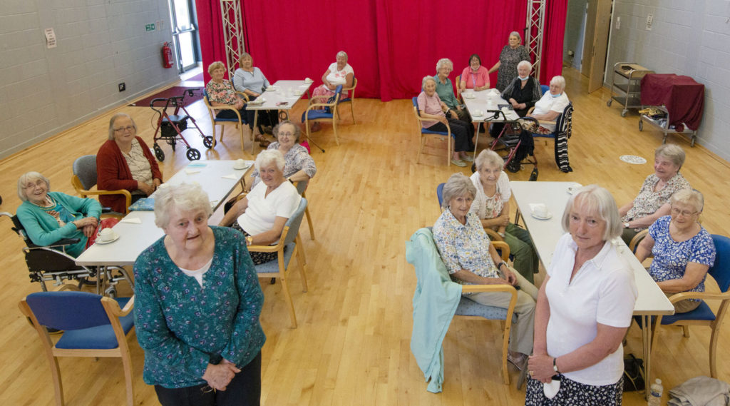 Caol club welomes back Tuesday visitors