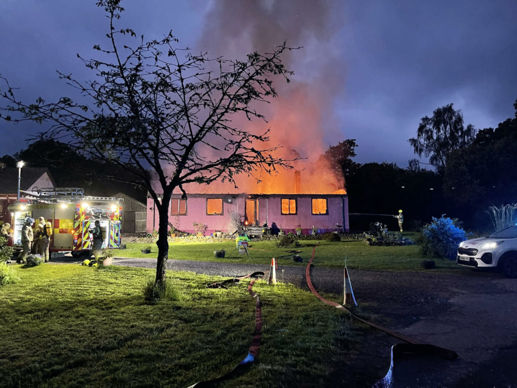 Community rallies round house-fire family