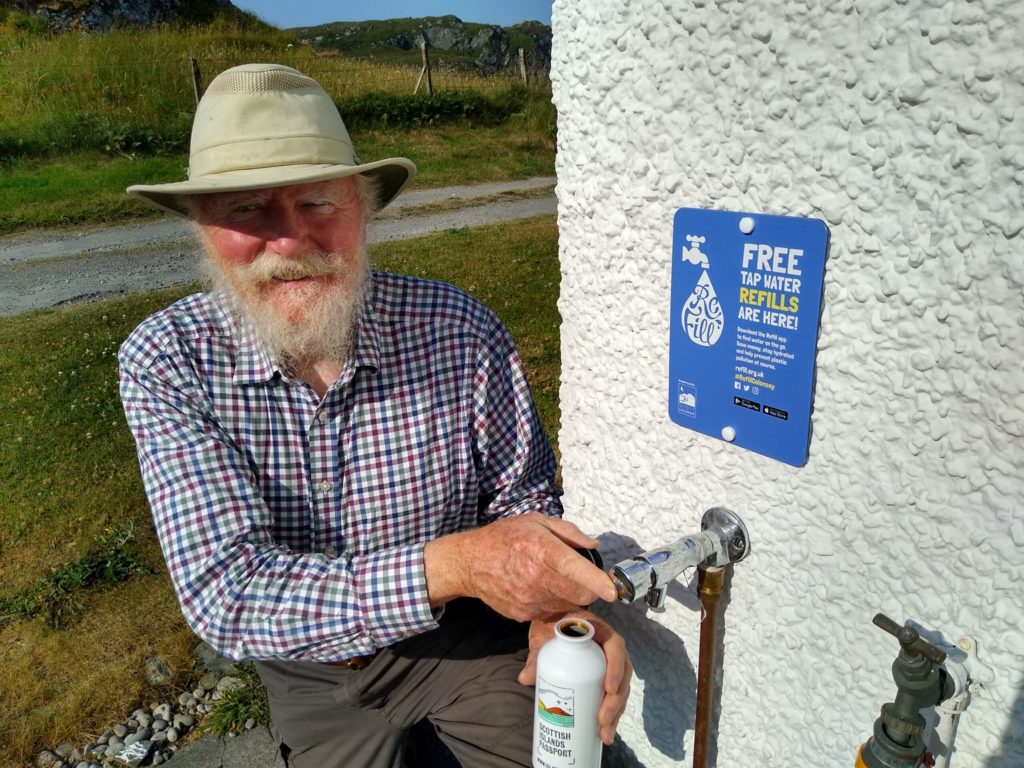 Colonsay taps in to becoming plastic free