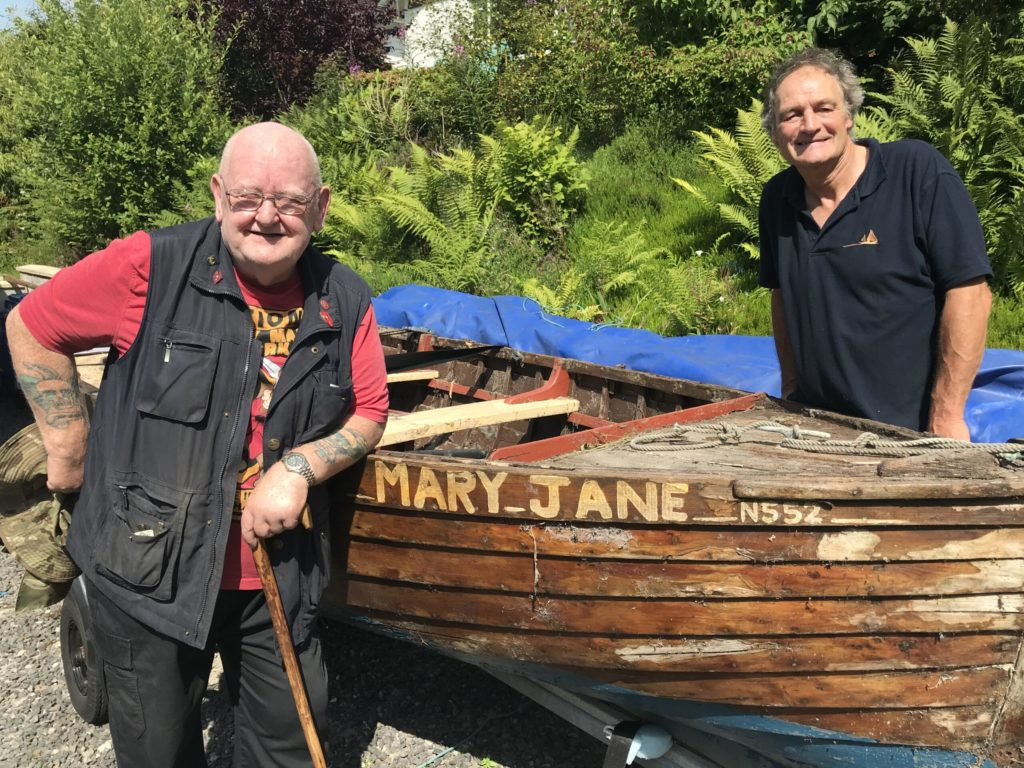 Men's Shed at helm of restoring the Mary Jane
