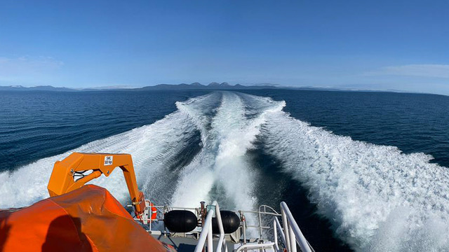 Islay RNLI search for overdue kayakers off Gigha