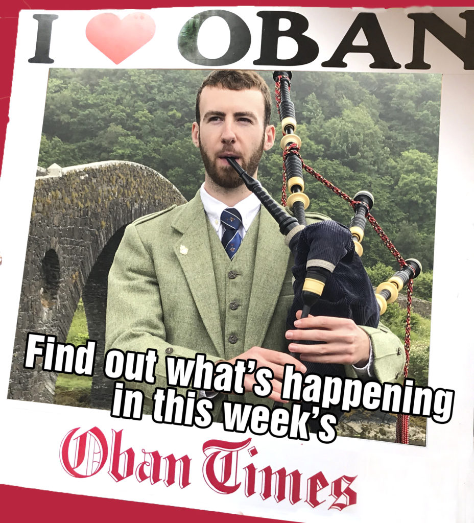 What's in This Week's Oban Times 28th July 2021
