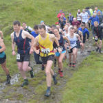 Runners set off on the Lochaber Athletics Club annual Eagle Hill race at Blarnafoldach. PICTURE IAIN FERGUSON. F26 LAC 01 IF