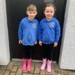 New primary one pupils at Ardgour Primary School looking very smart in their uniforms for the first day of term last week. NO F35 Ardgour P1s