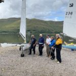 The series of races for disabled sailors always proves popular. Photograph: LYC. NO F35 LYC challenger series