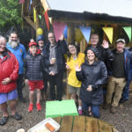 Saturday's downpours did not dampen the smiles on faces of those at the open day at Lochailort-based charity, Kirsty's Kids. Photograph: Iain Ferguson, alba.photos NO F35 kirsty kids