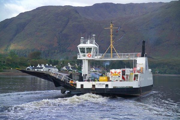 Corran Ferry replacement project making 'good progress'