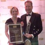 Calum and Rachel Ross of Loch Melfort Hotel.