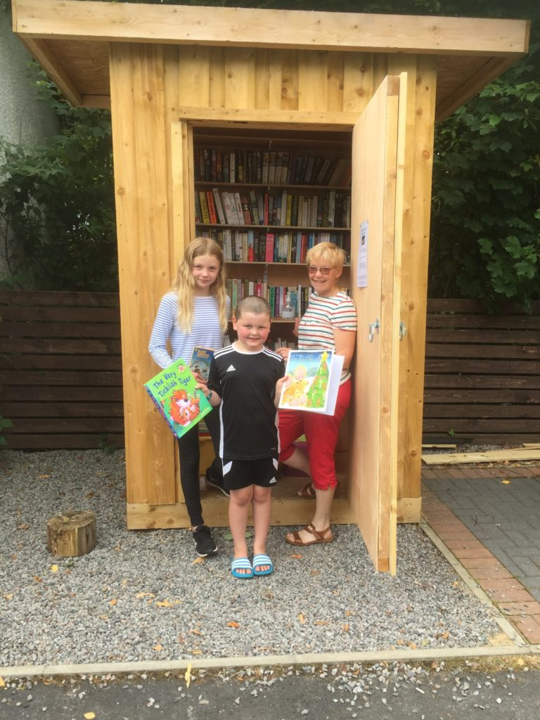 Taynuilt book shed open for business