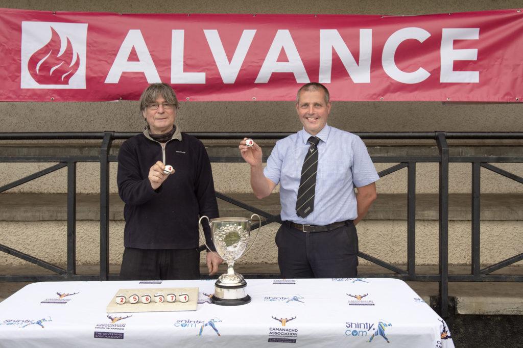 Quarter final draw for the Alvance British Aluminium Balliemore Cup