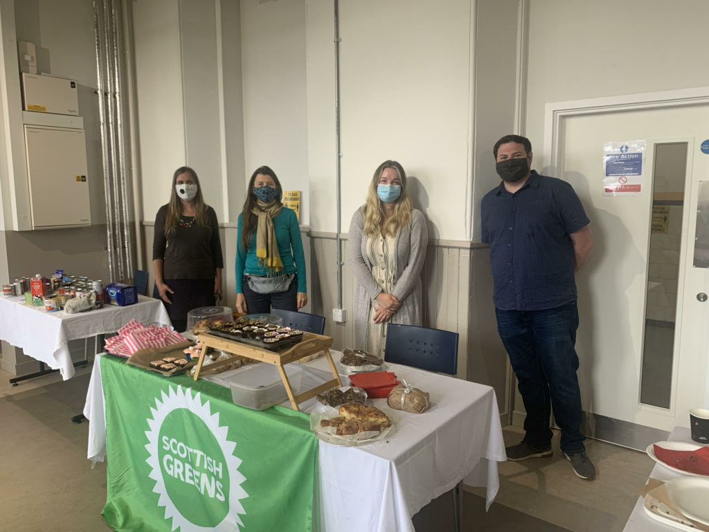 Green party sprouts Hope Kitchen funds