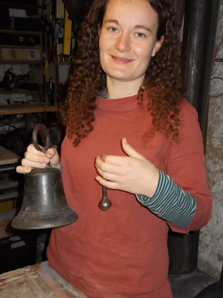 Ceremonial honours for recasting of Kilbride Bell