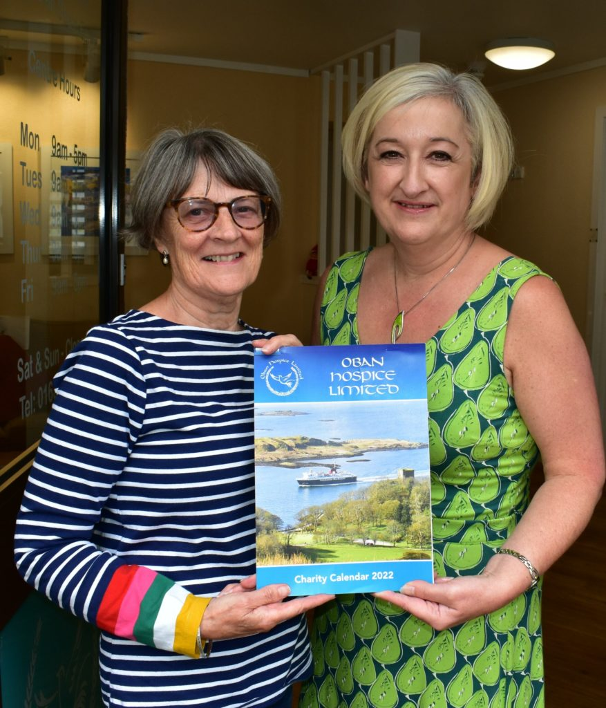 Make a date with Oban Hospice's charity calendar