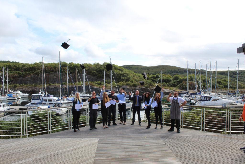 Graduation day for Argyll's new hospitality diploma