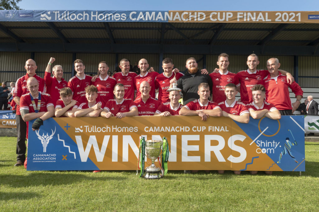Kinlochshiel win Camanachd Cup for the first time in their 63-year history
