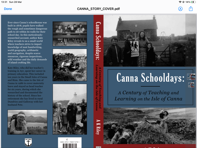 Former Canna teacher shines light on island school's history in new book
