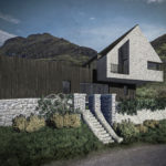 The new house has been designed by Dundee-based architect, Jon Frullani. NO F37 Glencoe house design