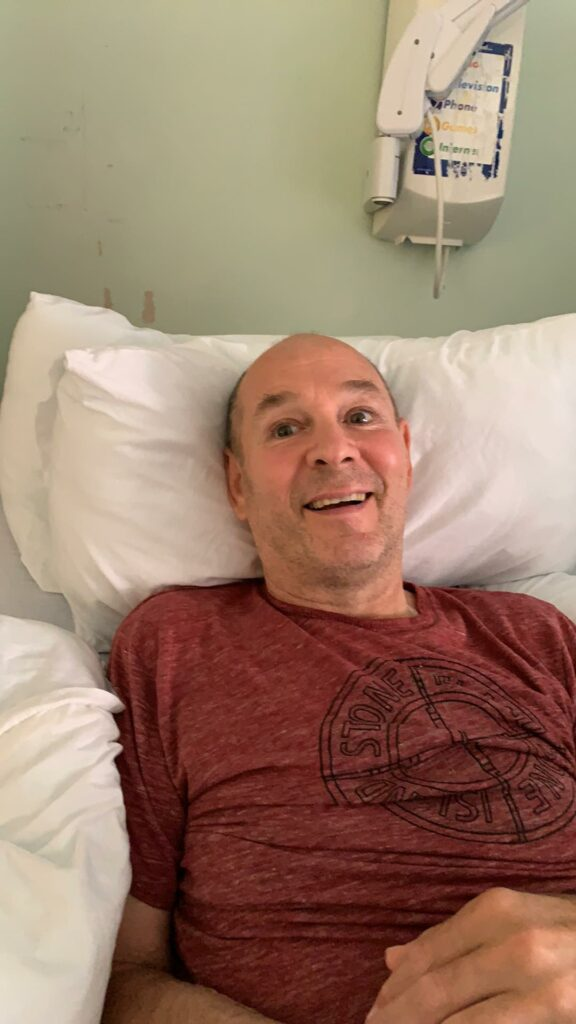 Davy Duncan, pictured, sent best wishes from his hospital bed in Inverness, to Pawel ahead of the latter's record-breaking run attempt on Ben Nevis this Saturday. NO F39 Davy Duncan 01