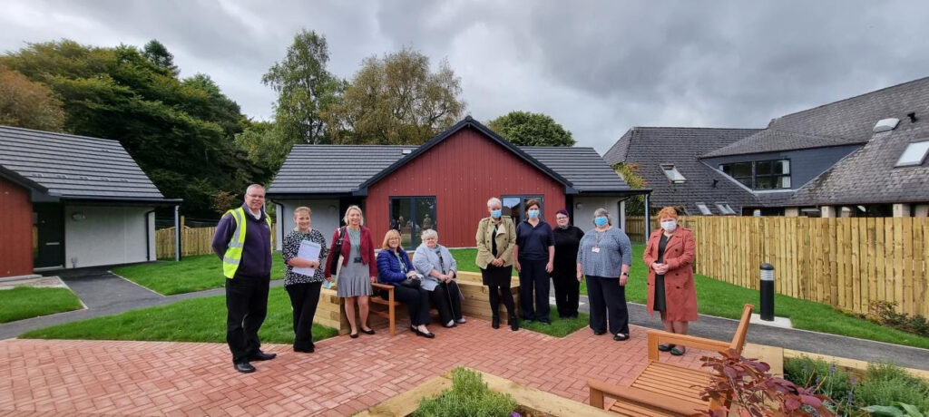 Ground-breaking housing project in Fort Augustus completed