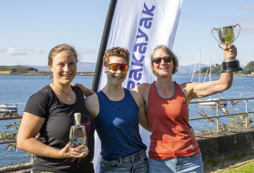Oban Sea Kayak Race returns to Oban and a new start venue