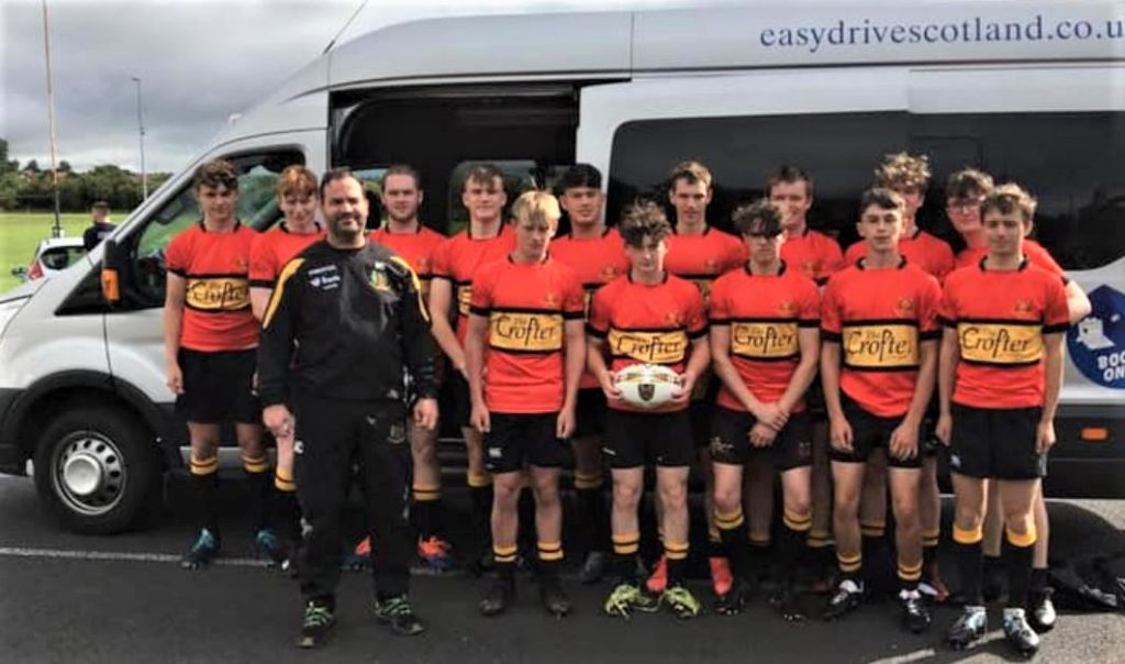 Great competitive restart for Lochaber rugby youths