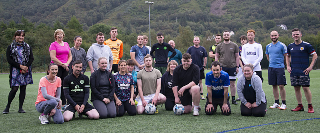 Kinlochleven residents are on the ball at community event