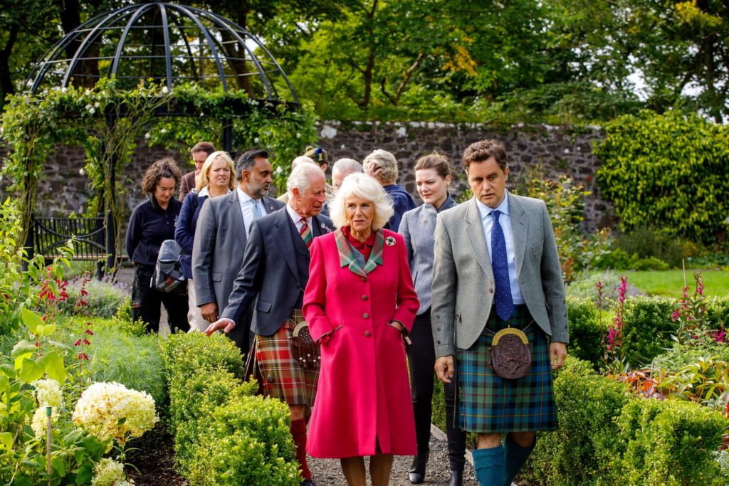 Duke and Duchess of Rothesay enjoy chippy tea and more on Skye
