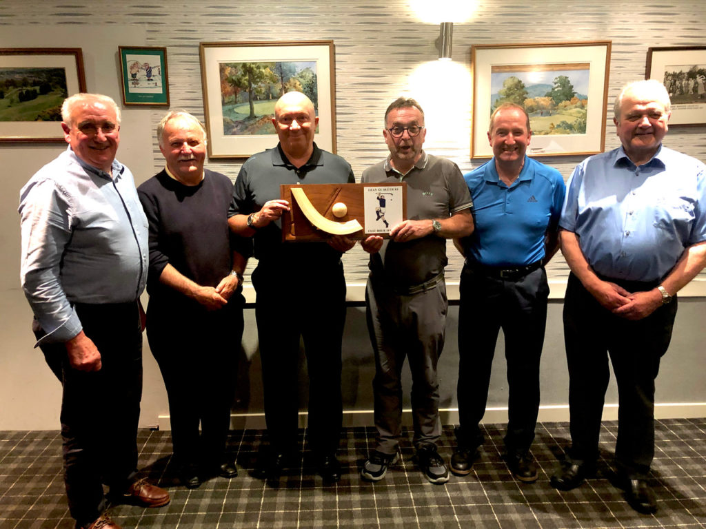 Shinty Memories receives boost from charity golf championship