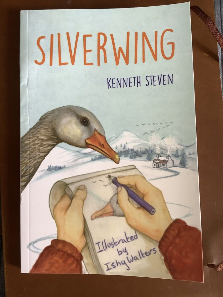 Kenneth Steven talks about his new book SILVERWING
