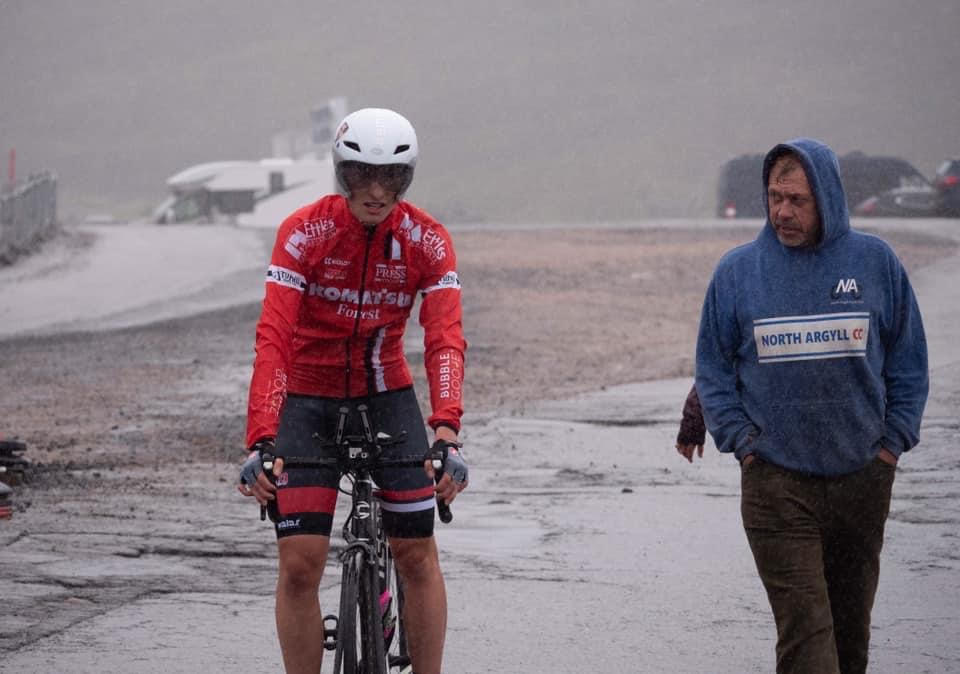 Matiss climbs to fourth place in Cairngorms hill event