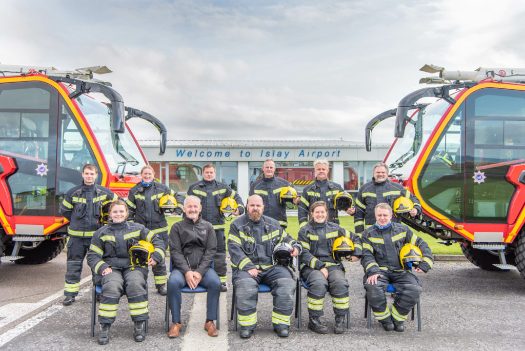 Islay firefighters' Runway Run ready for take-off