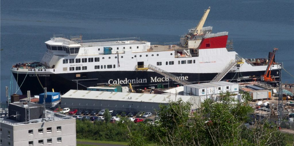 New Islay vessels will not be built in Scotland