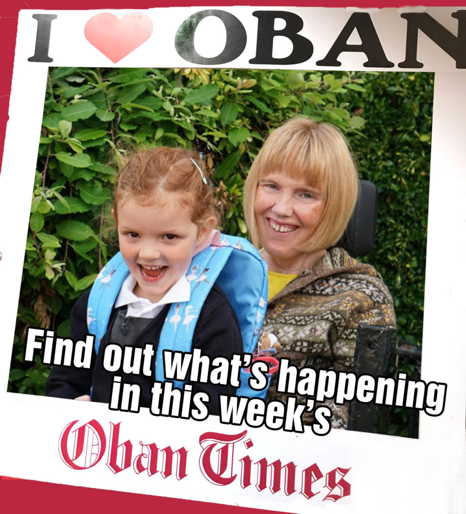 What's In This Week's Oban Times 8th September 2021