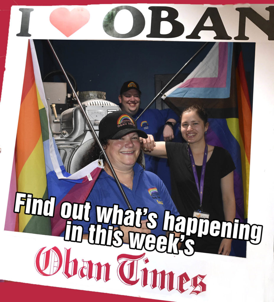 What's In This Week's Oban Times 15th September 2021