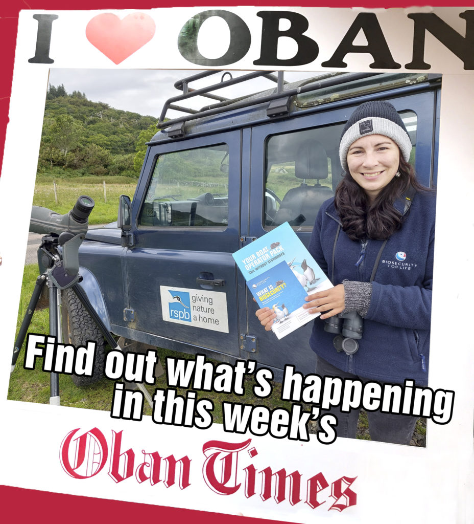 What's In This Week's Oban Times 1st September 2021
