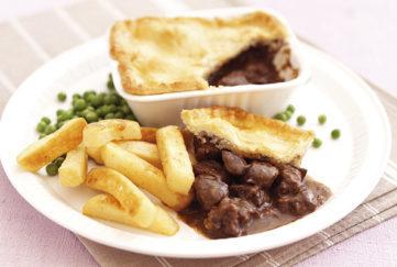 steak and kidney pie