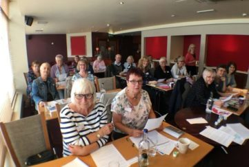 Our guests at the People's Friend Story Writing Workshop, York.