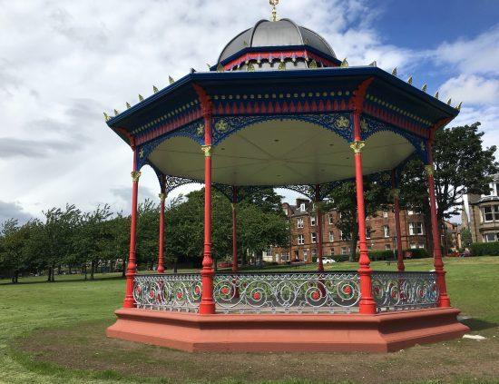 Magdalen Green bandstand, Dundee.