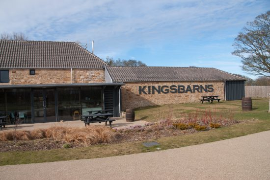 03. Kingsbarns Distillery - well worth a tour