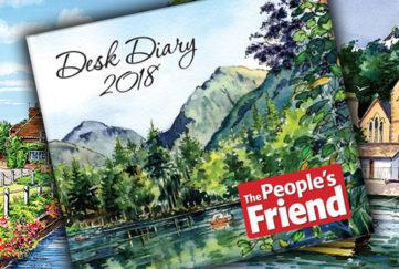 PF Desk Diary feature