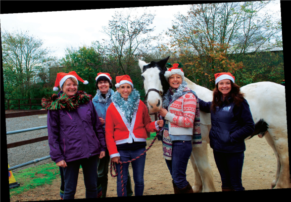 """Season's greetings to """"Friend"""" readers from all at Cotswold RDA."""