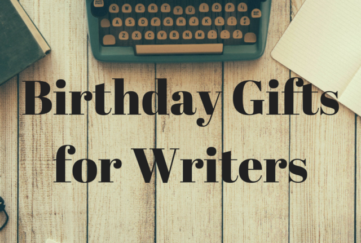 writers birthday gift