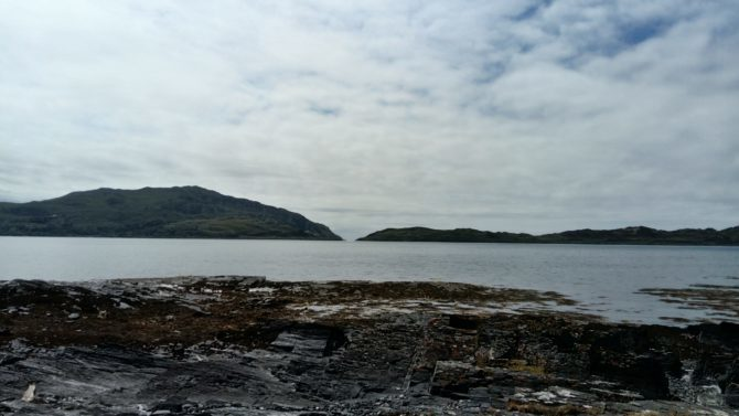 The view from Blackmill Bay