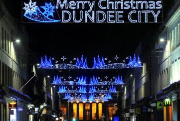 dundee christmas lights