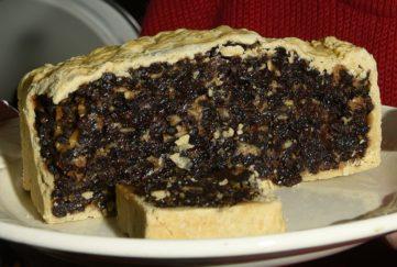 scots bun black bun hogmanay