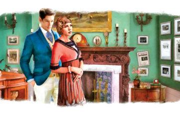 Illustration for The Grandings Hall Murder