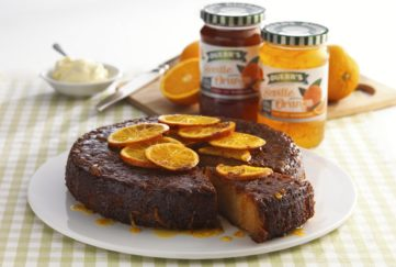 Orange Marmalade And Almond Cake