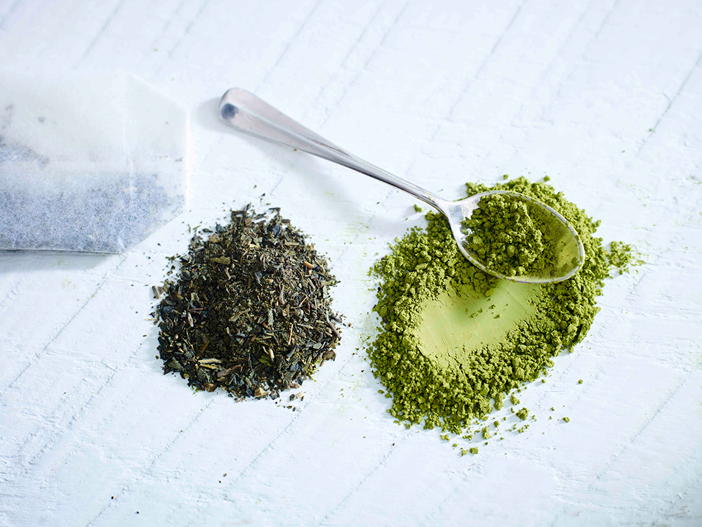 Green tea is good for reducing diabetes and for regulating your bowel fucntion