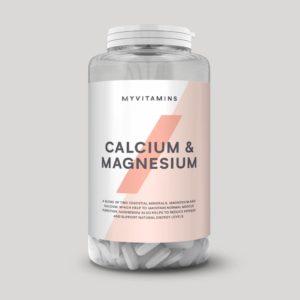 Calcium & magnesium is a dream mix to supplement bone health
