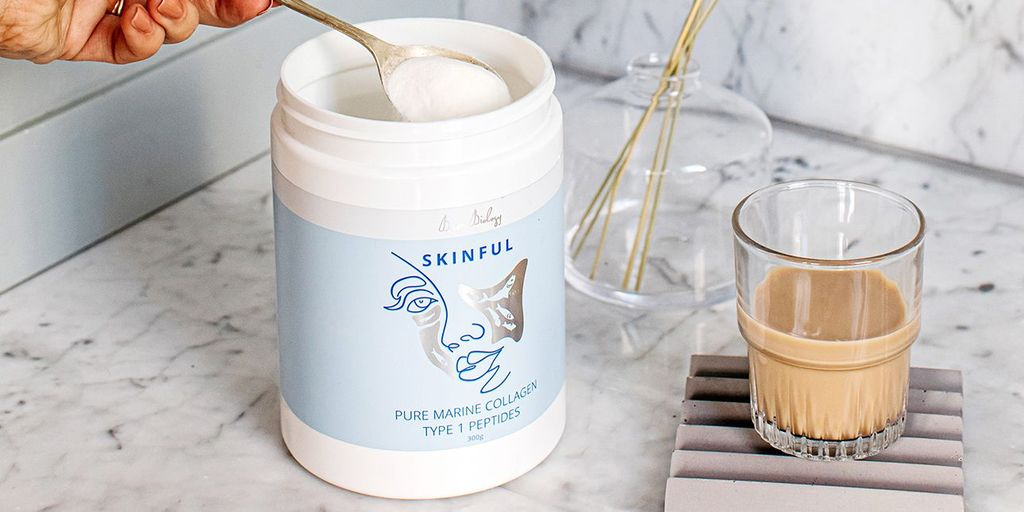 Skinful collagen contains type 1 peptides to improve bone health